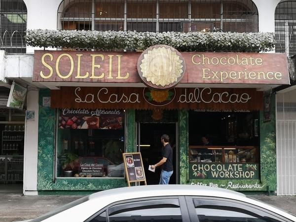 Fachada de La Casa del Cacao. Foto: Osvaldo Calderón