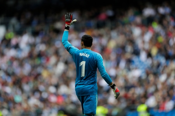 Keylor Navas fue titular en la última jornada de la Liga de España, en el partido ante el Real Betis. Fotografía: AP