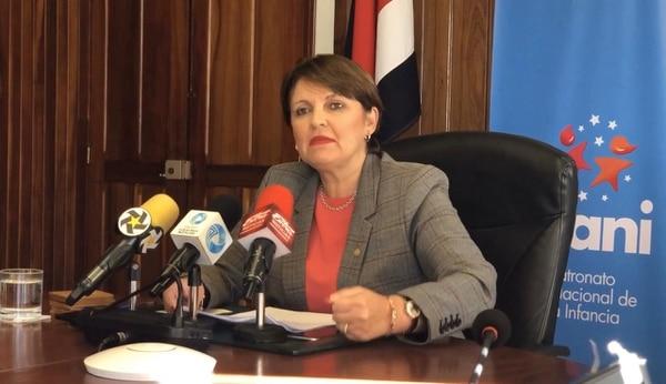 Patricia Vega no dejará el puesto, a pesar de la recomendación de los diputados. Foto: juan Diego Córdoba