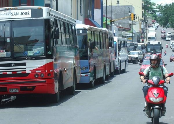 En algunas rutas solo se modificará el recorrido de ingreso a la capital. Foto: Rafael Pacheco