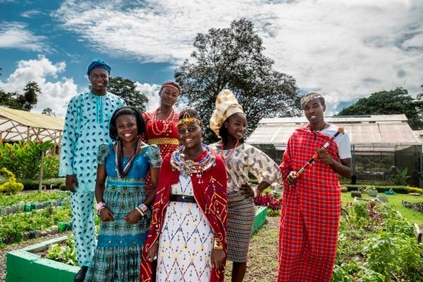 La EARTH tiene muchos estudiantes africanos entre cuerpo estudiantil.