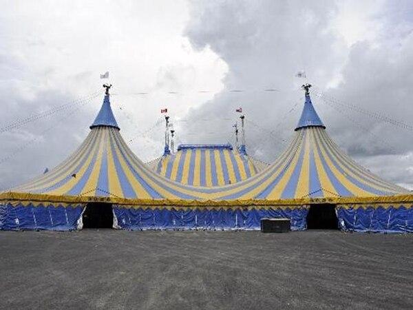 La Carpa del Circo del Sol está en Hacienda Espinal. | MAYELA LÓPEZ