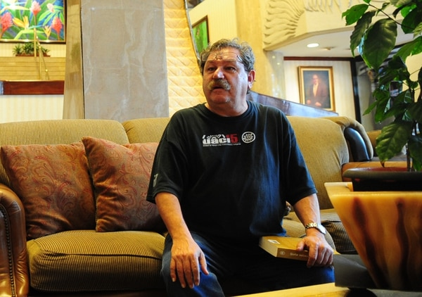 Impulso. Paco Ignacio Taibo II, autor mexicano de novela negra. Alex Caravaca.