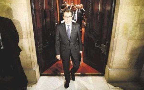 El presidente de Cataluña, Artur Mas dice que es conveniente la separación. | AFP