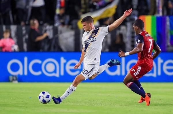 Tomas Hilliard en un juego de la temporada pasada de la MLS. Fotografía: Cortesía.