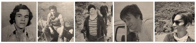 Desde que se fundó el Parque Nacional Chirripó, en 1975, cinco búsquedas han requerido participación fuerte de cruzrojistas, bomberos y otros. Solo Rocío Venegas (al centro, blusa con rayas) salió sana y salva. Foto: Nación.