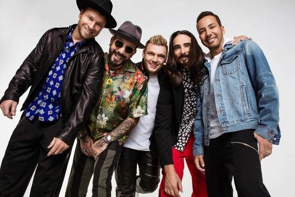 Backstreet Boys. Cortesía de Primo Entertainment