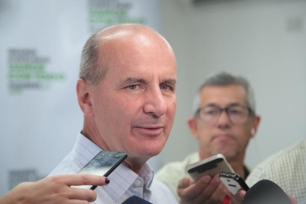 El expresidente José María Figueres, quien fue presidente del PLN y ex precandidato presidencial para el 2018, ahora representa a la empresa SICPA en América Latina. Foto: Archivo LN