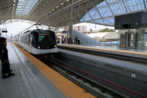 La Línea 1 del metro de Panamá fue inaugurada en abril del 2014, actualmente se finiquita la Línea 2 y ya el gobierno panameño se concentra en empezar con la Línea 3. Cortesía: Autoridad de Turismo de Panamá (ATP)/Archivo.