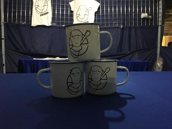 Las tazas de Ed Sheeran fueron también solicitadas por los fans.