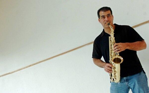 Conocido. Javier Valerio forma parte del cuarteto Sonsax. Archivo