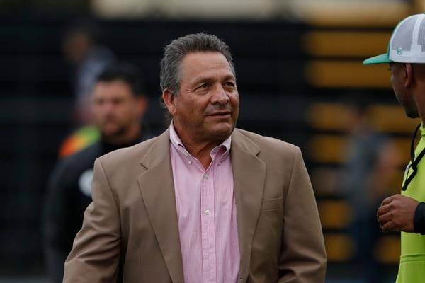 Marvin Solano asumió a Limón en el Apertura 2018. El timonel sacó al equipo del último lugar, pero terminó por renunciar al sumar tres derrotas al hilo en el Clausura 2019. Fotografía José Cordero.