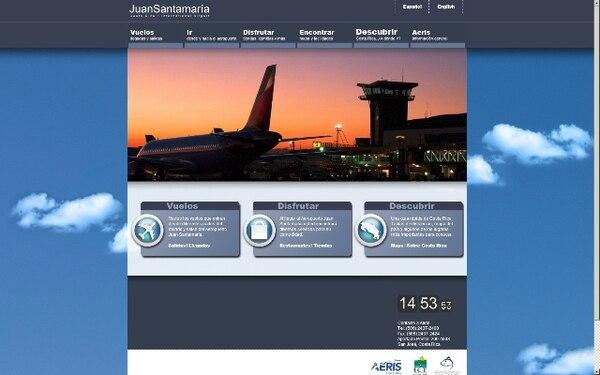 En este portal los turistas nacionales y extranjeros podrán conocer la terminal y revisar horas de llegada y salida de vuelos.
