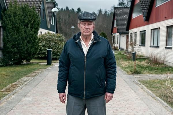 El actor Rolf Lassgård encarna a Ove, el protagonista de la cinta.