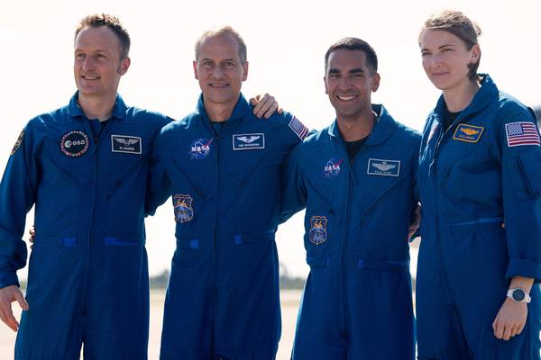 NASA enviará a cuatro astronautas a la Estación Espacial Internacional