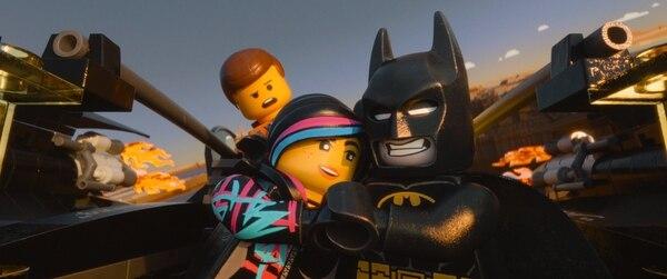 Película de Lego.