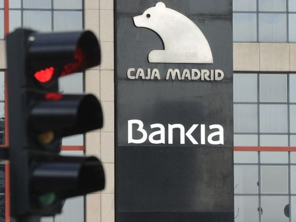 Bankia tuvo que ser nacionalizado el año anterior dadas las dificultades financieras que atravesaba. | ARCHIVO