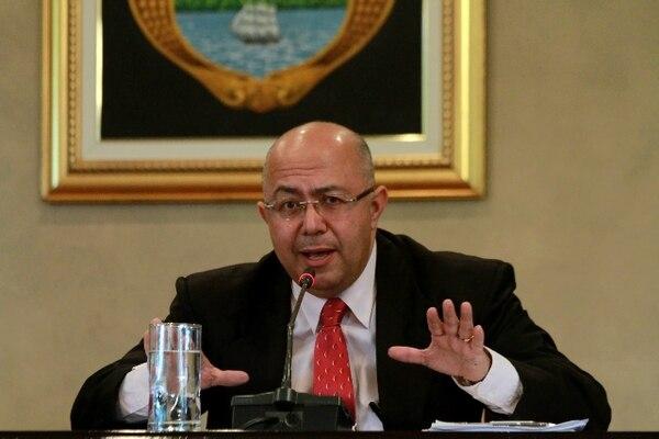 Carlos Roverssi, ex vicecanciller de la República.