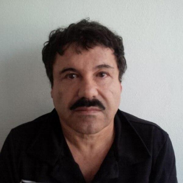 Joaquín el Chapo Guzmán después de su arresto en México. | AP