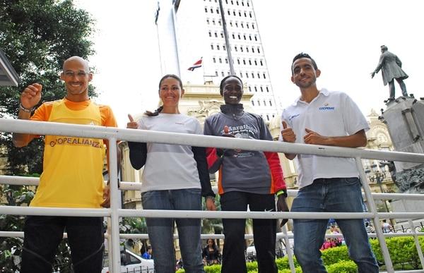 Varela, Chepkoech, Irene Sánchez y Chaves. | MARIO ROJAS