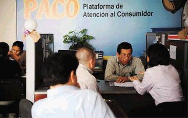 Plataforma de Apoyo al Consumidor atenderá de 7 a. m. a 5 p. m.