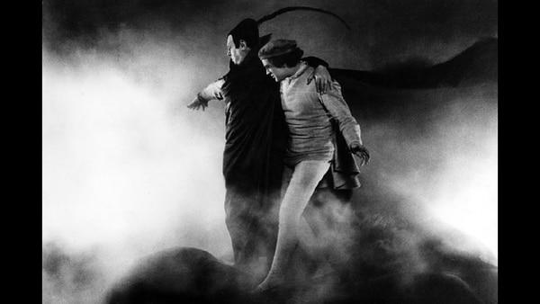 Fotograma de 'Fausto', película de 1926 dirigida por Friedrich W. Murnau. Foto: captura.