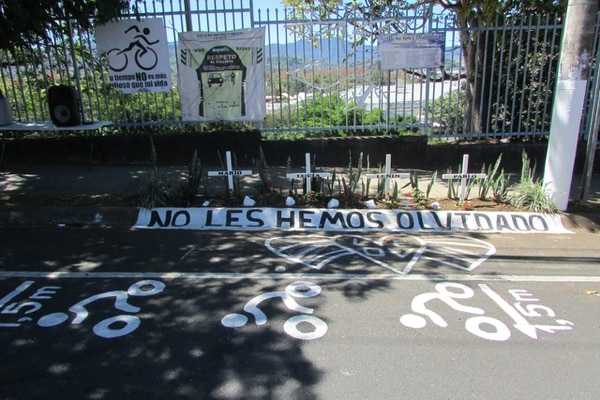 Este es un homenaje que le realizan a los ciclistas año con año. Foto: Keyna Calderón