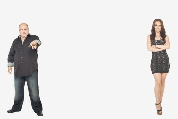 Dominic Capone y su joven novia, Staci Richter (derecha) conversaron en exclusiva con Teleguía sobre los entretelones del reality show Los Capone .   TLC PARA TELEGUÍA