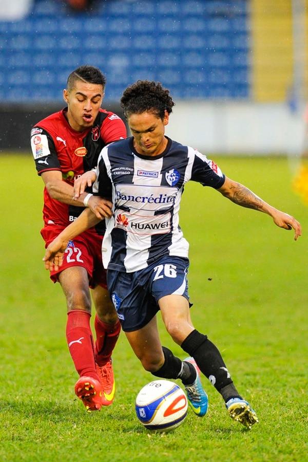 Kevin Vega es el lateral izquierdo titular del Cartaginés. | ARCHIVO