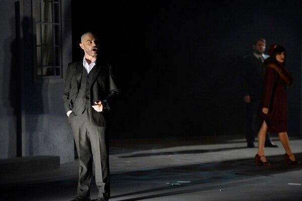 José Arturo Chacón es el protagonista de la obra 'Don Giovanni'. Fotos de Diana Méndez