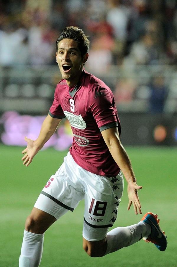 Jonathan Moya se ha destapado en los últimos partidos con Saprissa y suma nueve tantos en el Verano.