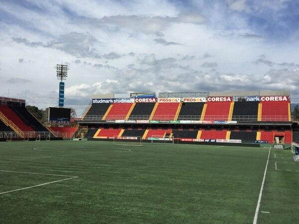 El estadio Alejandro Morera Soto en la actualidad.