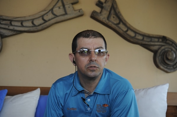 Alonso Bermudez gerente del hotel Punta Islita donde se hospedaron los turistas.