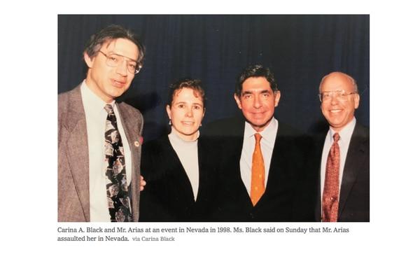 Carina A. Black denunció a Óscar Arias mediante el New York Times.