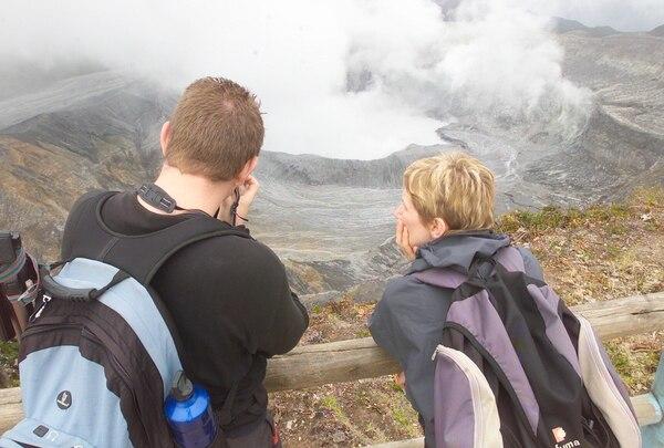 El volcán Poás es uno de los puntos de mayor visitación turística en el país.