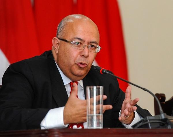 El ministro Carlos Roverssi rechazó la operación de Usaid. | ARCHIVO.