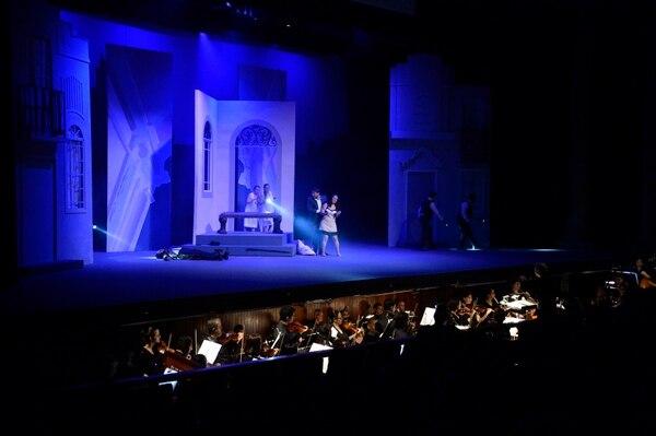 Don Giovanni, se estrenó el 22 de julio con upoca afluencia de público en el teatro Melico Salazar. Fotos de Diana Méndez