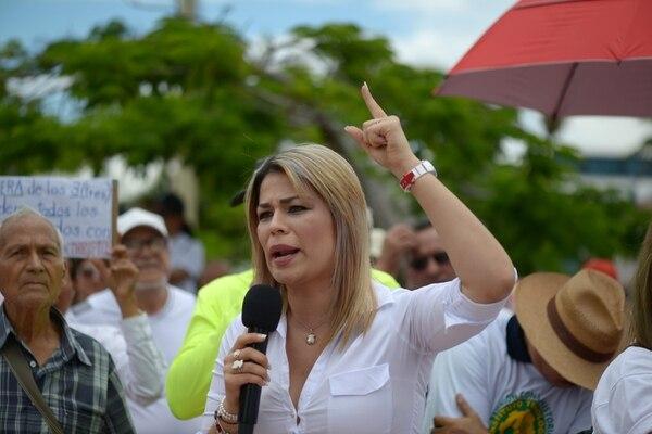 Franggi Nicolás Solano, diputada del Partido Liberación Nacional. Fotografía: Jose Díaz/Agencia Ojo por Ojo
