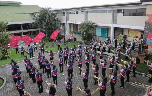 La banda, conformada principalmente por mujeres, es una asidua invitada a distintas actividades musicales, tanto navideñas como culturales, en todo el país. Fotografía: Jeffrey Zamora