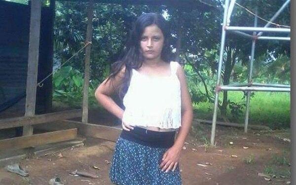 Karim Lilieth Reyes Hernández, tiene 11 años. Desapareció desde el miércoles anterior. OIJ para LN
