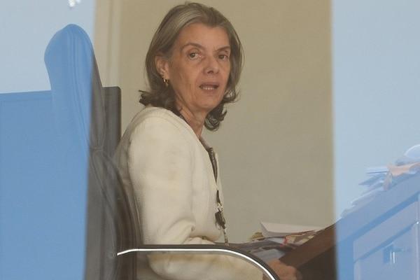 Carmen Lúcia, presidenta del Supremo Tribunal Federal (STF) de Brasil.