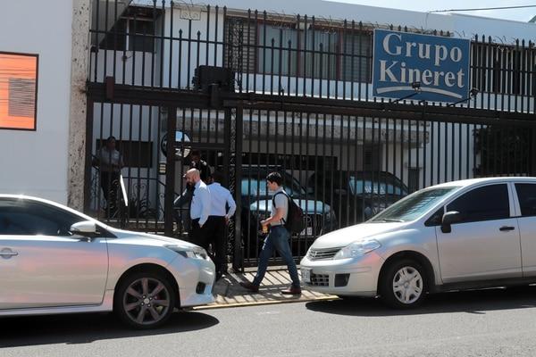 Las instalaciones de la empresa Grupo Kineret, en Sabana Norte, fueron allanadas la semana pasada. Foto: Alonso Tenorio/Archivo