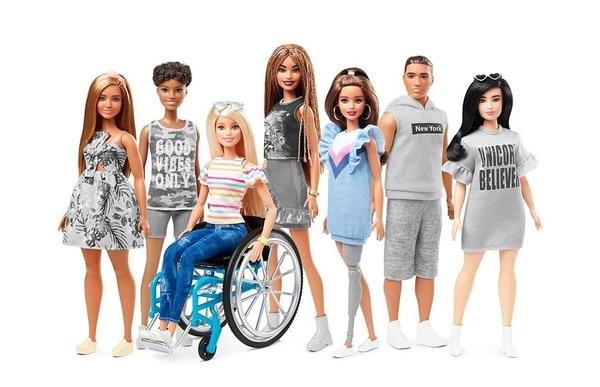 La nueva colección inclusiva de Barbie es parte de la celebración de los 60 años de la marca. Fotografía: Tomada de Instagram.