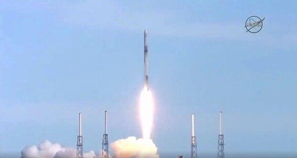 El lanzamiento se efectuó desde Cabo Cañaveral, Florida, Estados Unidos. AFP.