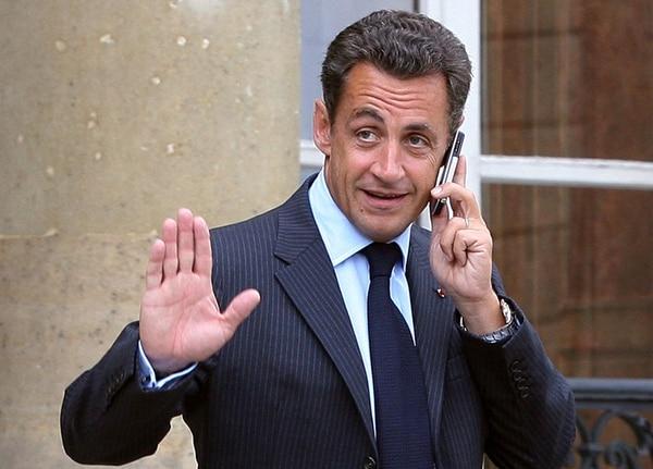 El expresidente francés Nicolás Sarkozy en agosto del 2007 en la residencia oficial del Palacio del Elíseo. | AFP
