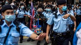 Fuerte despliegue policial en Hong Kong en celebración del centenario del Partido Comunista de China