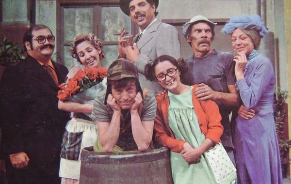 En la década de los 70,   EL CHAVO DEL 8 ALCANZÓ LOS 60 PUNTOS DE RATING Y SE CONVIRTIÓ EN PROGRAMA NÚMERO UNO DE LA TELEVISIÓN MEXICANA. LA POPULARIDAD DEL SHOW NO SE CONCENTRÓ EN ÉL, SINO QUE SE REPARTIÓ EN EL RESTO DE PERSONAJES. ARCHIVO