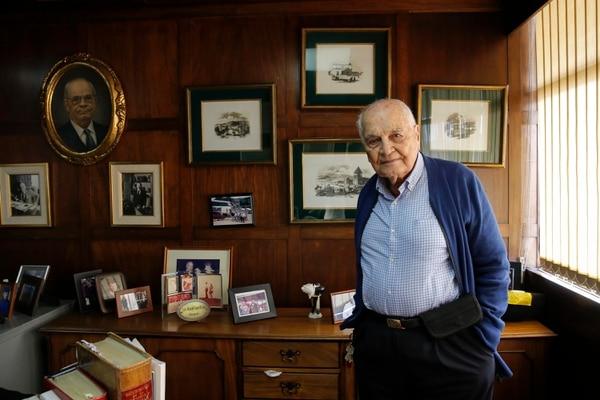 Don Raúl Gurdián Montealegre, de 98 años, es el único pariente vivo que conoció a Felicia Montealegre. Crecieron juntos y mantuvieron relación con el paso de los años, a pesar de la distancia. Foto: Mayela López