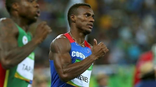 Nery Brenes, es el máximo exponente del atletismo costarricense.