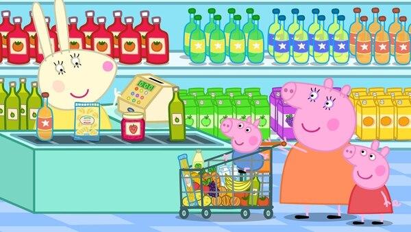 Las aventuras de la divertida Peppa Pig y su familia están disponibles en Discovery Kids Plus. Foto: Archivo.